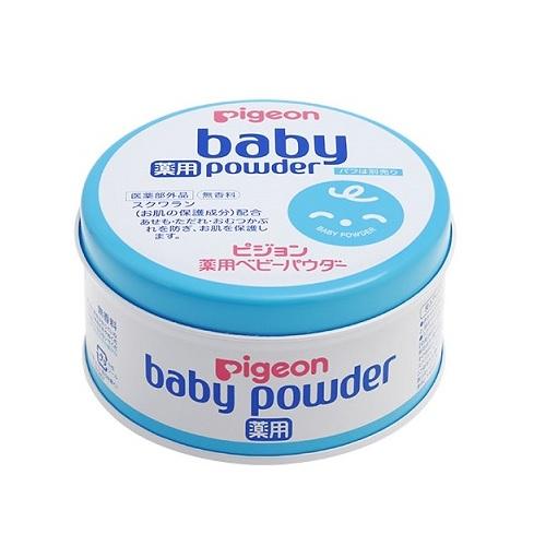 Phấn rôm em bé Pigeon Baby Powder 150g