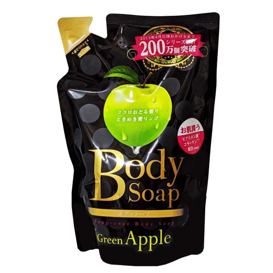Sữa tắm dưỡng ẩm body soap hương táo 400mL