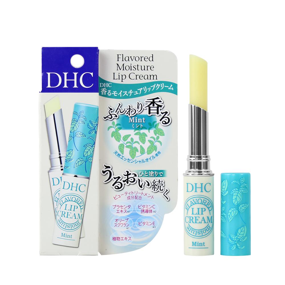 Son dưỡng môi DHC Flavored Moisture mùi Bạc hà 1.5g