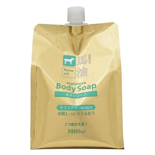 Sữa tắm chiết xuất mỡ ngựa Kumano túi 1000mL