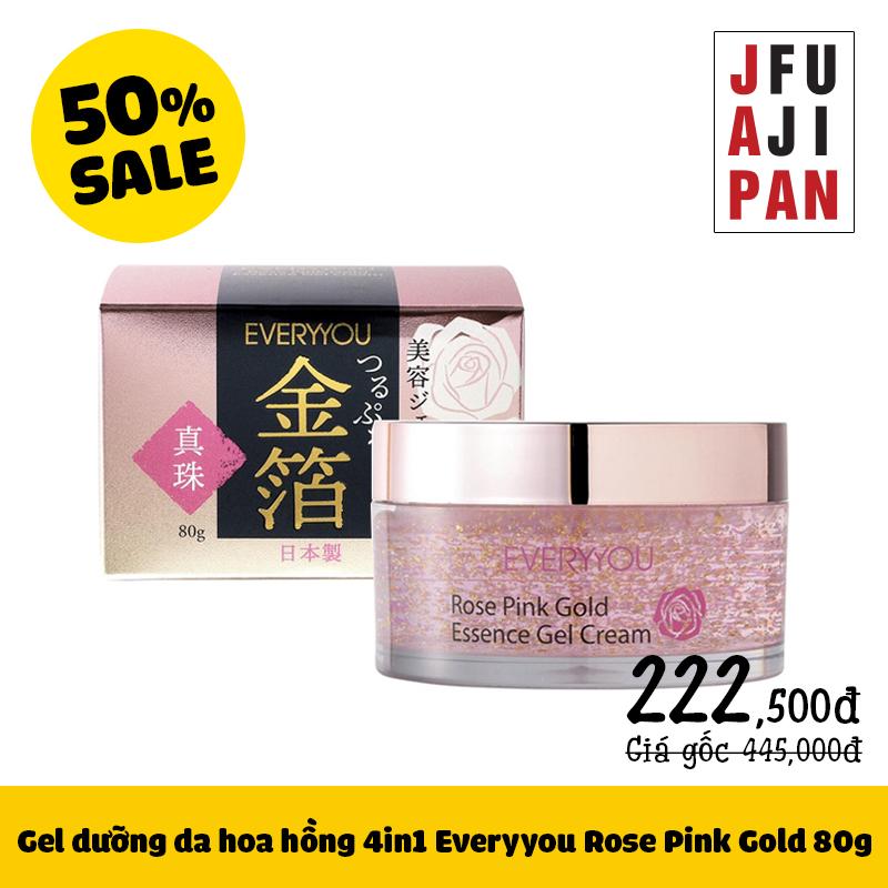 Gel dưỡng da 4in1 Everyyou Rose Pink Gold 80g