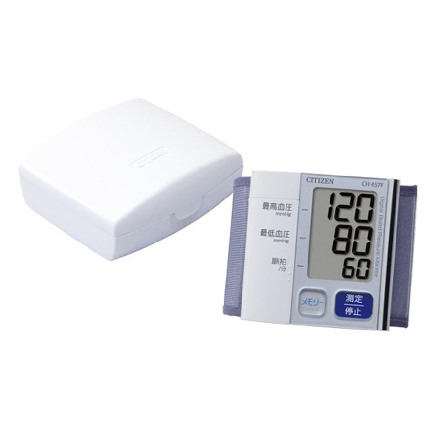 Máy đo huyết áp cổ tay Citizen CH-657F