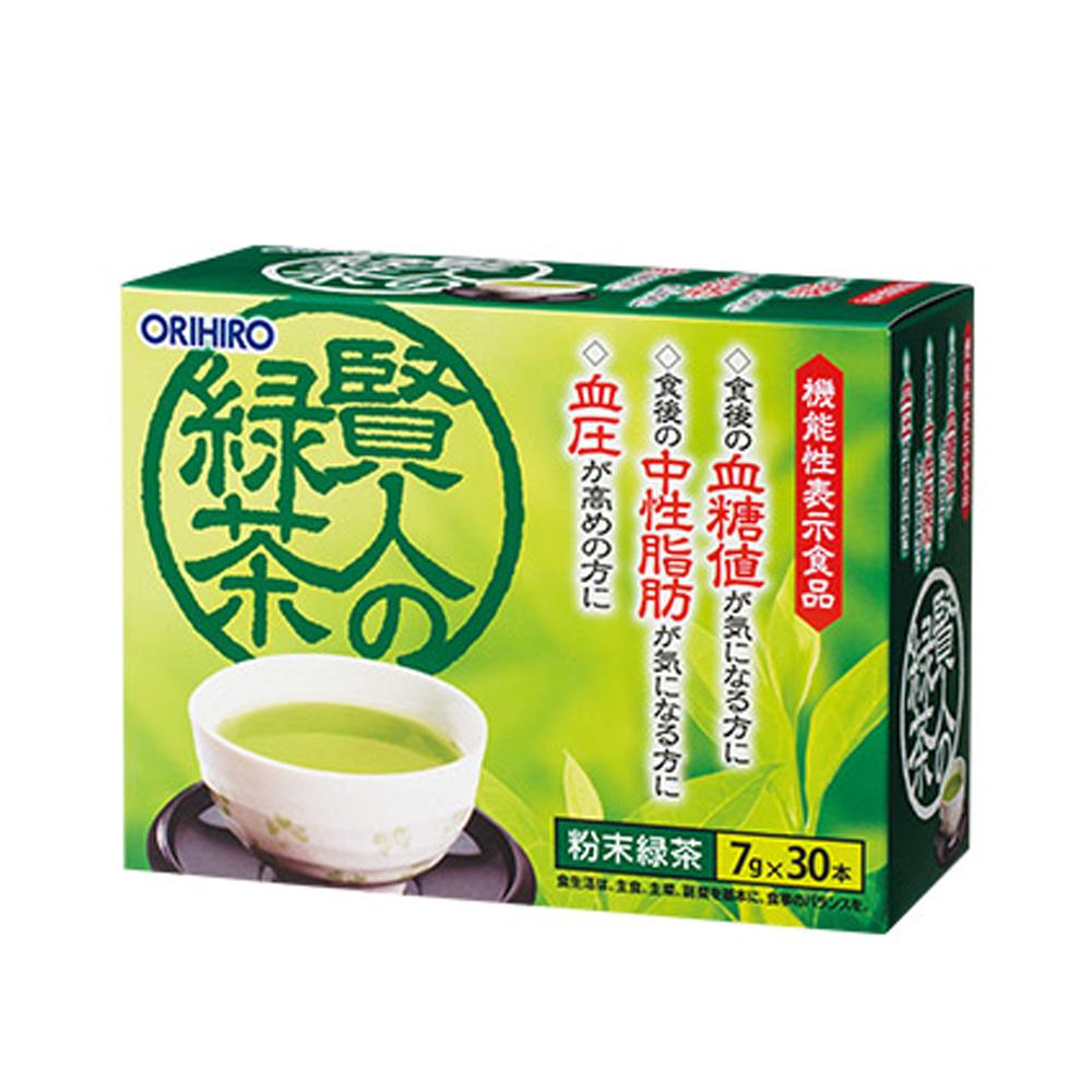 Trà xanh Orihiro Sage giảm mỡ máu 30 gói x 7g