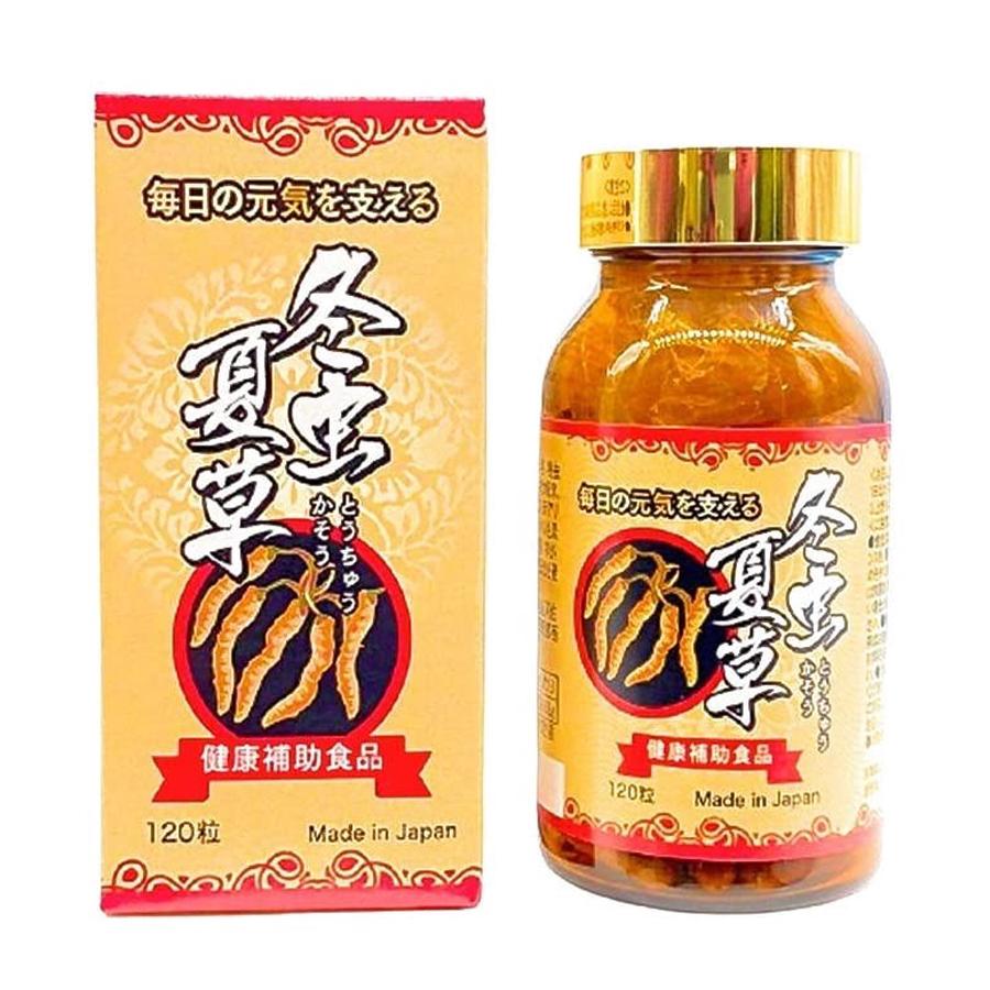 Viên uống đông trùng hạ thảo Nihonkoso 120v Nhật Bản
