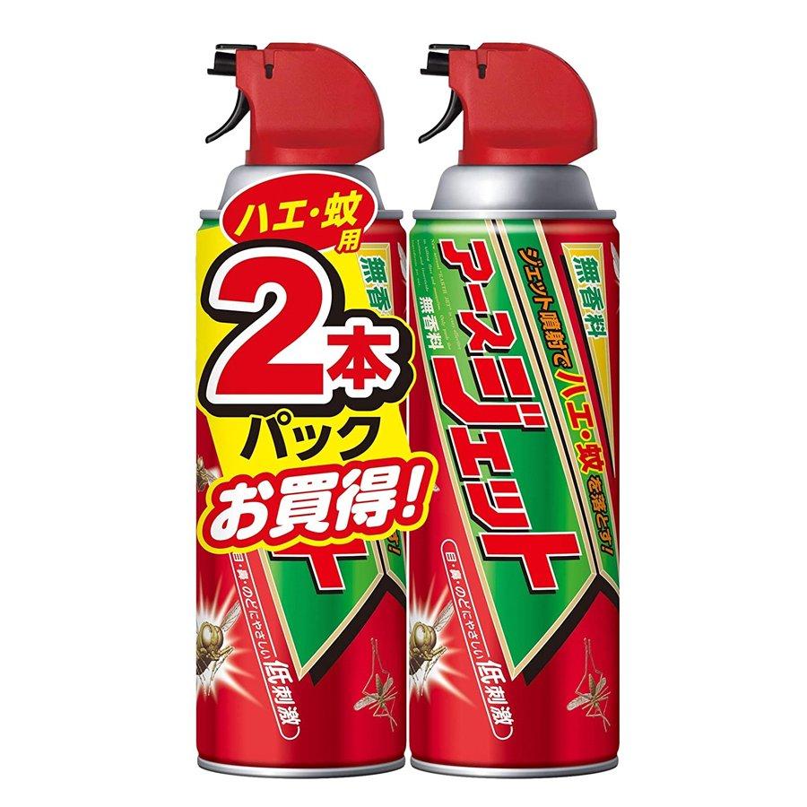 Xịt chống côn trùng Asu EARTH JET 450mL x 2 chai