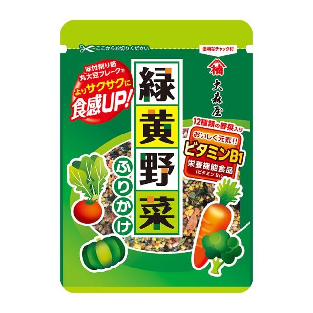 Gia vị rắc cơm Omoriya 12 loại rau củ 23g