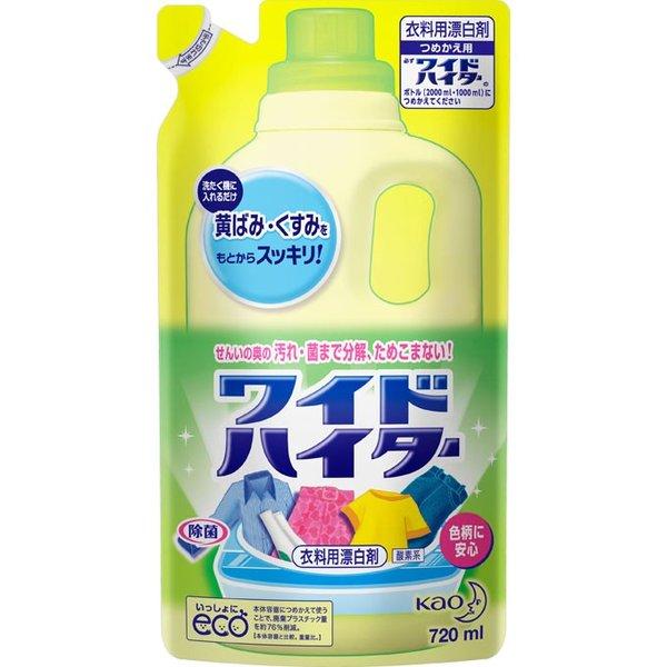 Nước tẩy quần áo kháng khuẩn khử mùi Kao Wide Higher 720mL