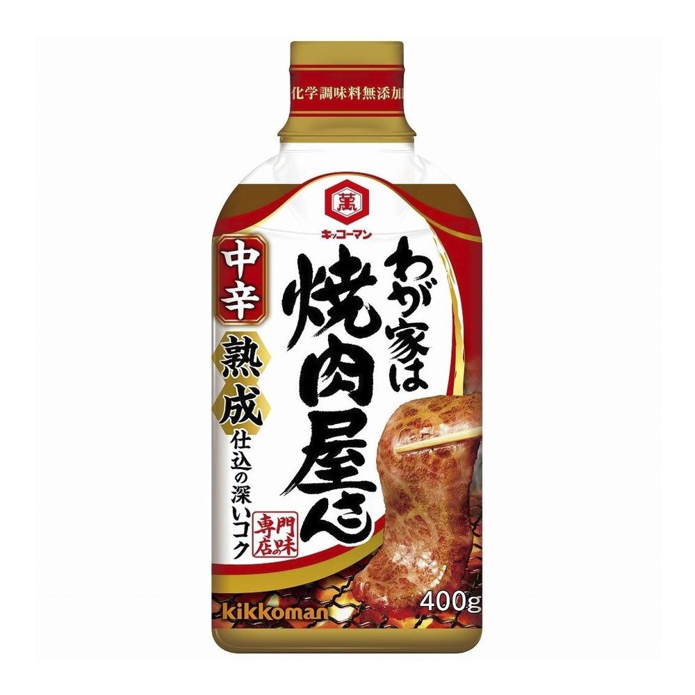 Sốt ướp thịt yakiniku Kikkoman vị cay vừa 400g
