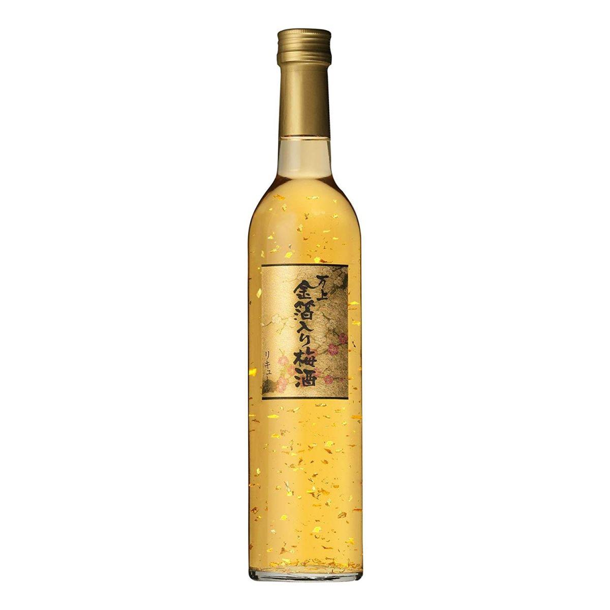 Rượu mơ vảy vàng Kikkoman 500ml