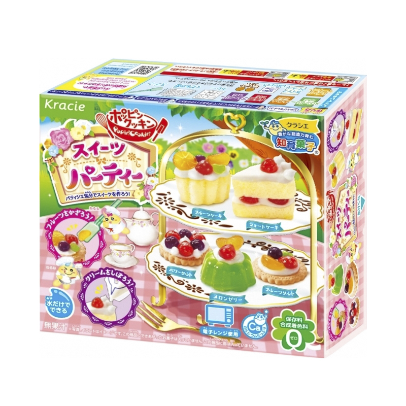 Popin cookin bữa tiệc bánh ngọt Sweet Party