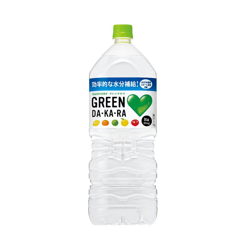 Nước uống vị trái cây Suntory GREEN DA, KA, RA 2000mL