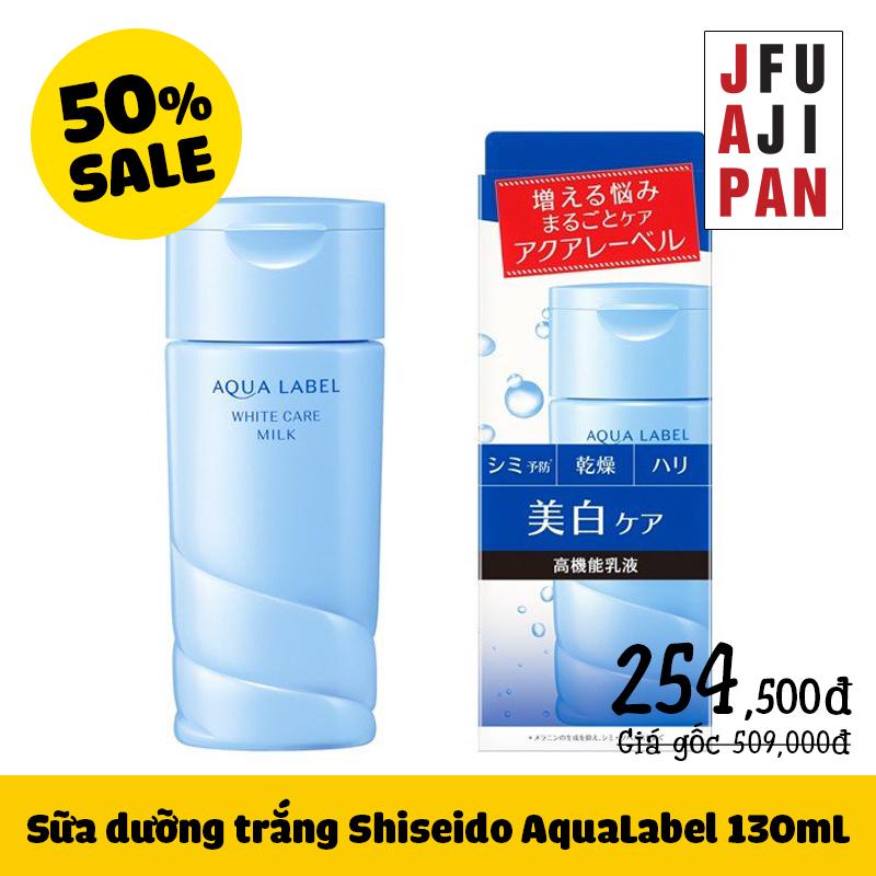 Sữa dưỡng trắng Shiseido AquaLabel 130mL