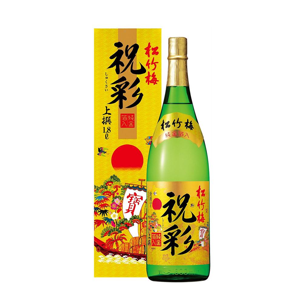 Rượu sake vảy vàng Takara Shozu thượng hạng 1.8L