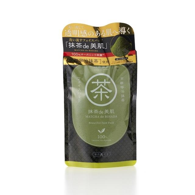 Mặt nạ trà xanh nguyên chất 100% Matcha de Bihada 170g