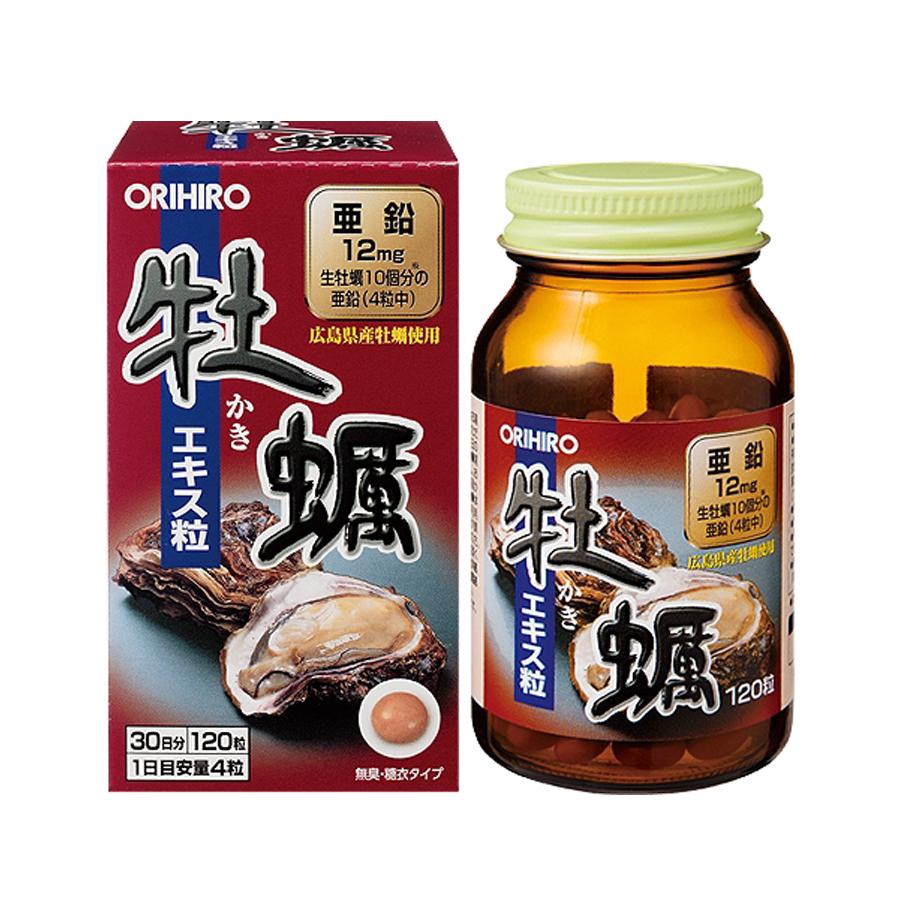 Viên uống tinh chất hàu tươi Orihiro 120v