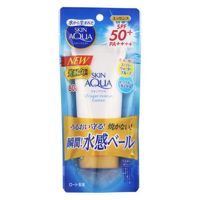 Kem chống nắng Rohto Skin Aqua UV Super Moisture Essence SPF 50+ PA++++