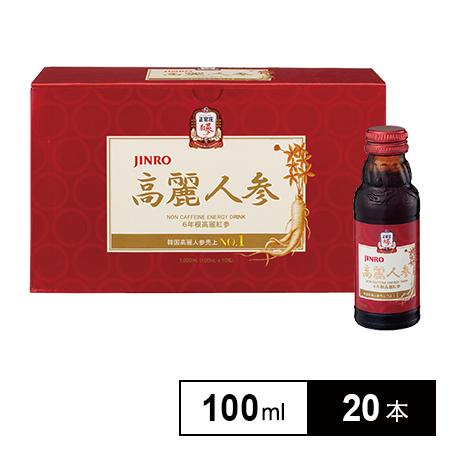 Nước hồng sâm Shinro Jinro 100mL x 10c