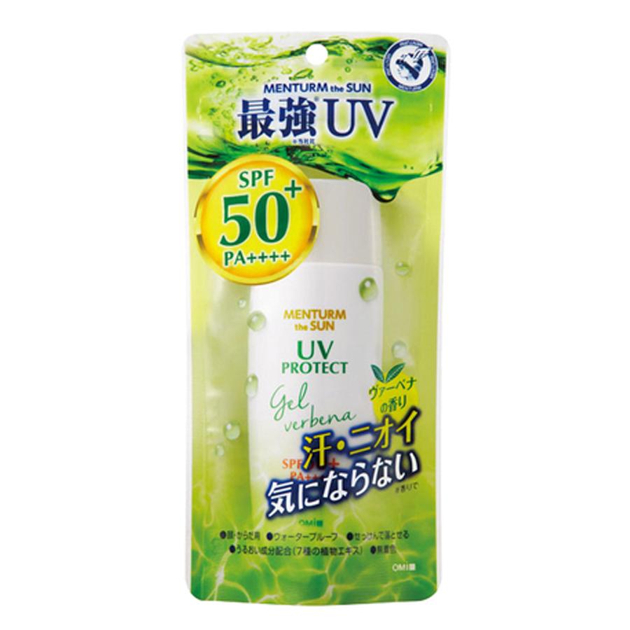 Kem chống nắng Menturm The Sun UV Protect Gel trà xanh SPF50+/PA++++