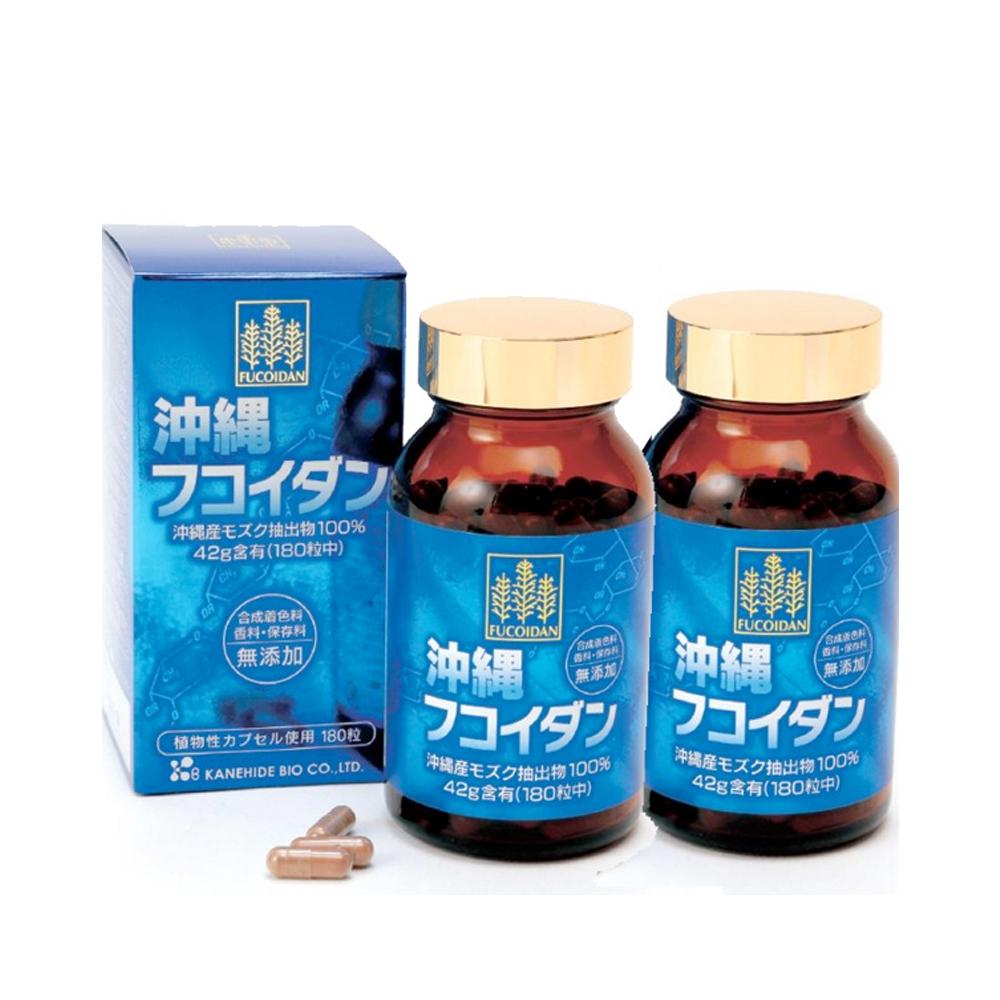 Viên uống Fucoidan Okinawa phòng chống và hỗ trợ điều trị ung thư 180v