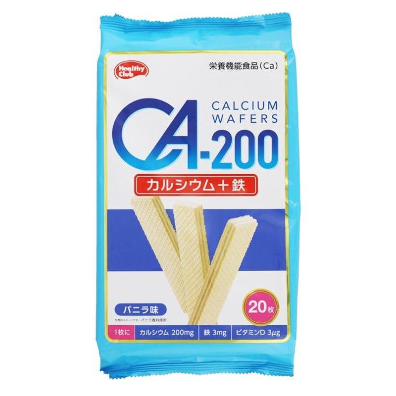 Bánh xốp bổ sung Canxi Healthy Club Ca-200 20 gói