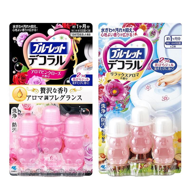 Gel khử mùi vệ sinh bồn cầu Kobayashi (2 set x 3 lọ)