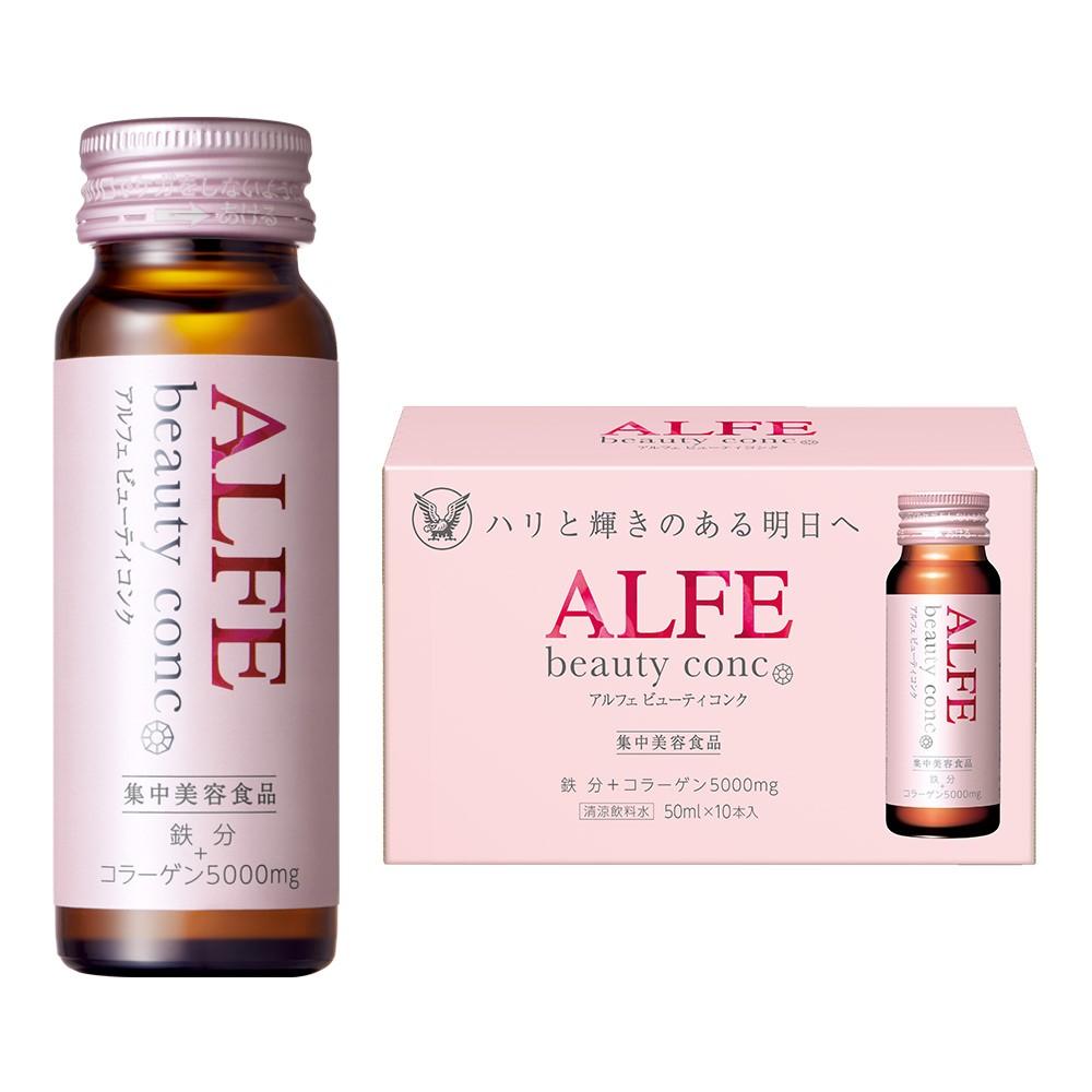 Nước uống đẹp da Collagen Alfe Beauty Conc (50mLx10 chai)