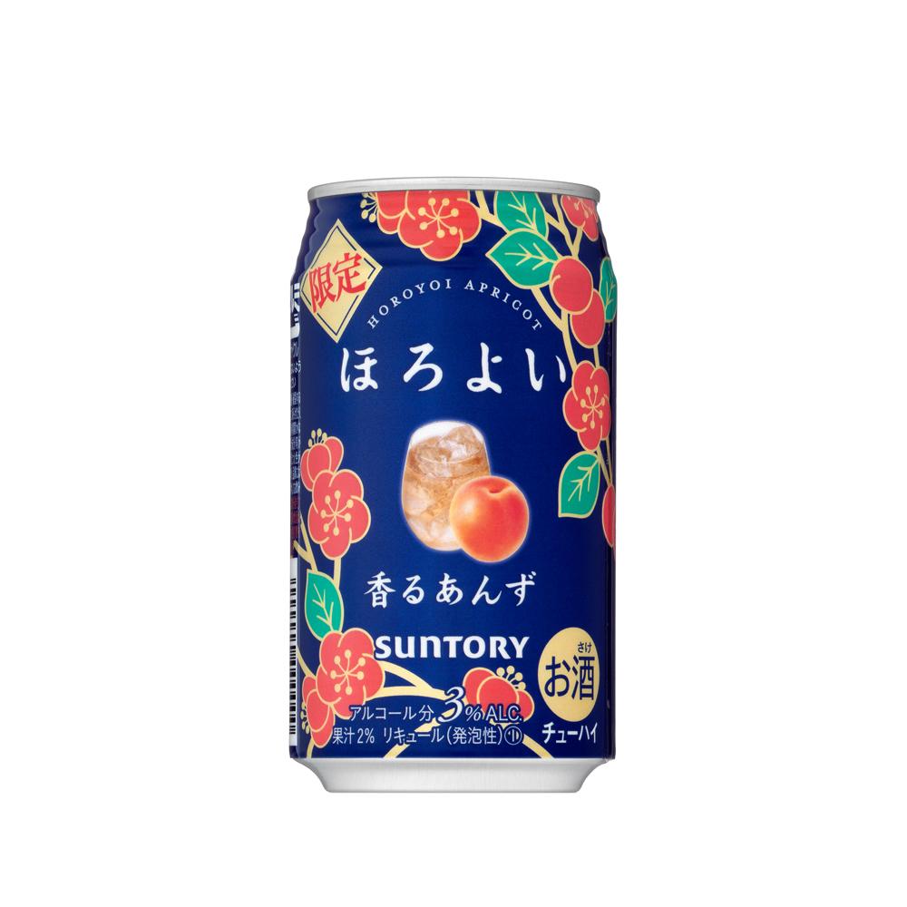 Rượu trái cây Suntory Horoyoi vị quả mơ 350mL