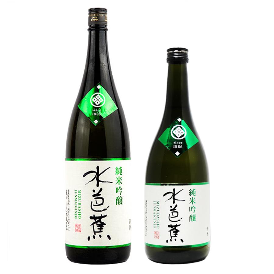 Rượu sake Mizubasho Junmai Ginjo