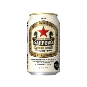 Bia Lager Sapporo 350ml
