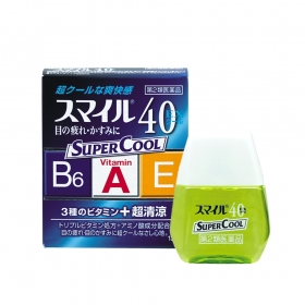 Thuốc nhỏ mắt Smile 40EX Cool Super Cool 13ml