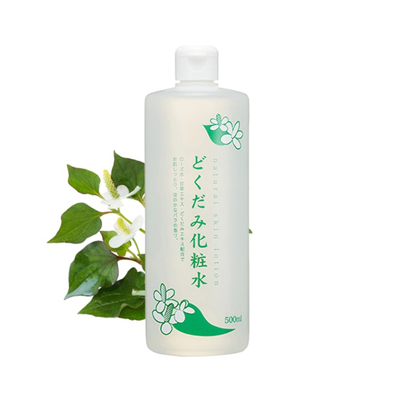 Lotion diếp cá trị mụn Dokudami Natural Skin 500ml